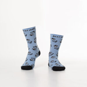 Face Patterned Socks
