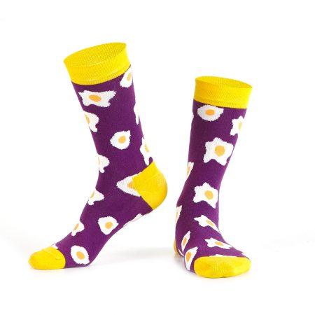 Purple Egg Socks