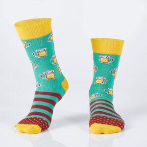 Beer Cup Socks