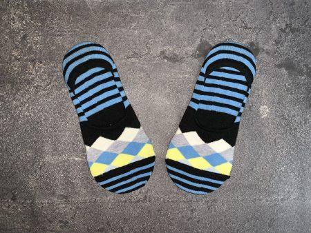 Argyle Pattern Babet Low Cut Socks