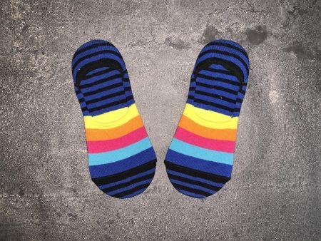 Colorful Line Babet Low Cut Socks