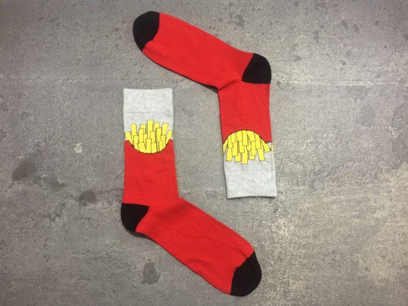 Fried potatoes Socks